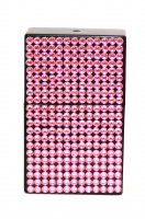 Taschenaschenbecher Strasssteine Pink