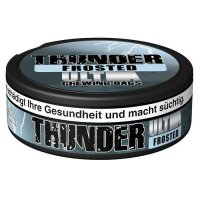 Thunder Chewing Bags Ultra Strong Frosted 17,6g Dose