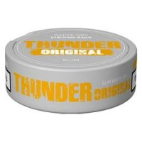 Thunder Slim White Dry Chewing Bags Original
