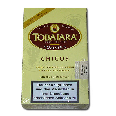 Tobajara Chicos Sumatra 50er Zigarillos