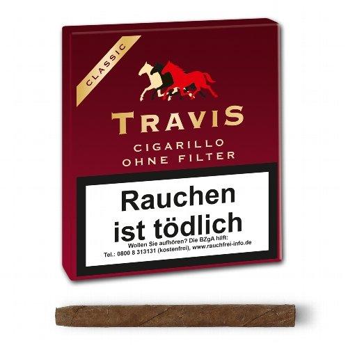 Travis (Aromatic) Classic Zigarillo ohne Filter