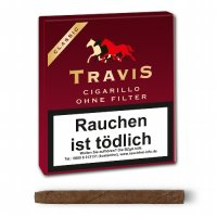 Travis (Aromatic) Classic Zigarillo ohne Filter