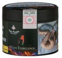 True Passion 6 Gum Turbulence  200g Dose Wasserpfeifentabak