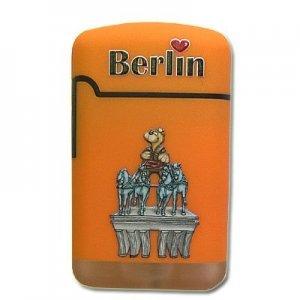 V-Fire Easy Torch Berlin Orange 1 mit Bär auf dem Brandenburger Tor