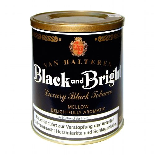 Van Halteren Pfeifentabak Black and Bright 200g Dose