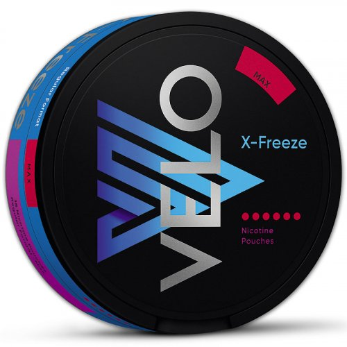 Velo X-Freeze Max Nicopods
