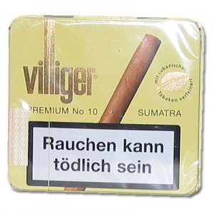 Villiger Premium No.10 Sumatra Zigarillos