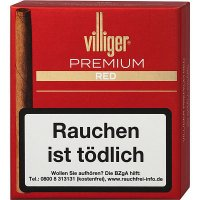 Villiger Premium Red Zigarillos ohne Filter