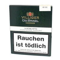 Villiger Zigarren Do Brasil Maduro Robusto 5er
