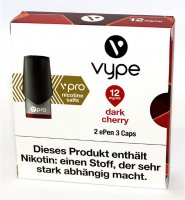 Vype ePen 3 Caps vPro dark cherrry 12mg Nikotin