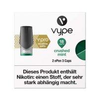 Vype ePen 3 Caps vPro Crushed Mint 18mg Nikotin