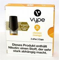 Vype ePen 3 Caps vPro classic mango 12mg Nikotin
