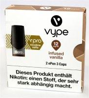Vype ePen 3 Caps vPro infused vanilla 12mg Nikotin