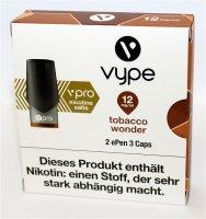 Vype ePen 3 Caps vPro tabacco wonder 12mg Nikotin