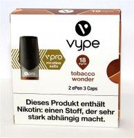 Vype ePen 3 Caps vPro tabacco wonder 18mg Nikotin