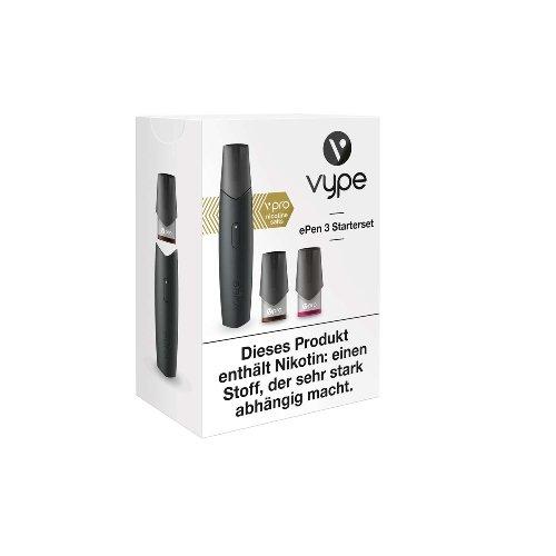 Vype ePen 3 Starterset schwarz E-Zigarette