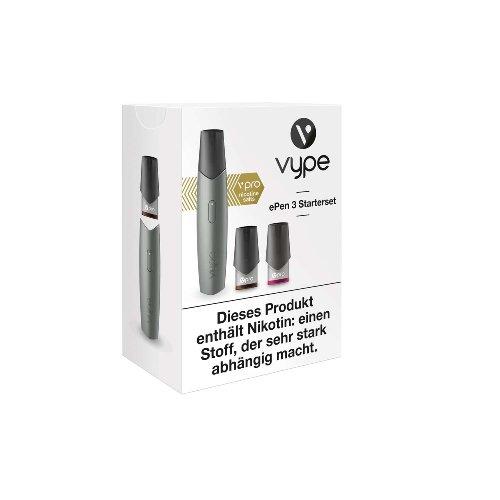 Vype ePen 3 Starterset silber E-Zigarette