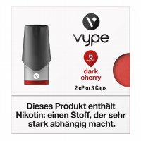 Vype ePen3 Caps Dark Cherry 6mg