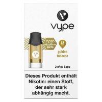 Vype ePod Caps Golden Tobacco 12mg