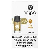 Vype ePod Caps Rich Vanilla 12mg