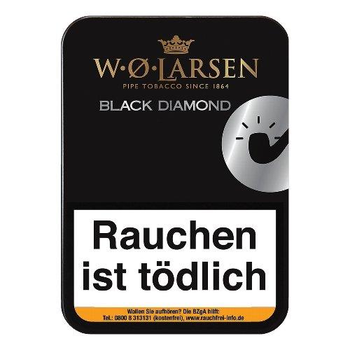 W. O. Larsen Black Diamond Pfeifentabak 100g Dose
