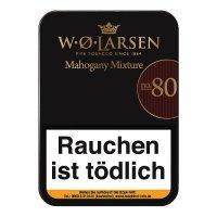 W. O. Larsen Mahagony Mixture No. 80 Pfeifentabak 100g Dose