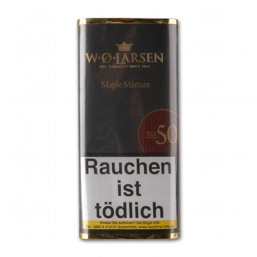 W. O. Larsen Maple Mixture No 50 Pfeifentabak 50g Päckchen