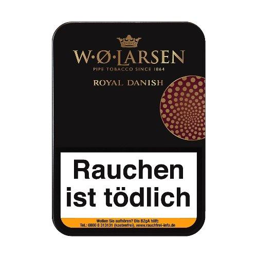 W. O. Larsen Royal Danish Pfeifentabak 100g Dose