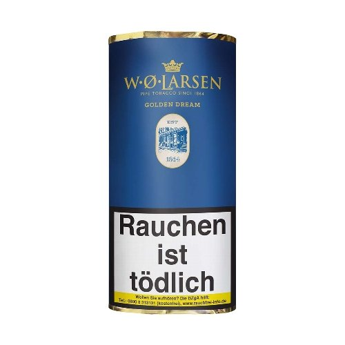W. O. Larsen The Masters Blend Golden Dream Pfeifentabak 50g Päckchen
