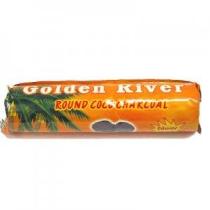 Wasserpfeifenkohle Golden River 40mm Cocos