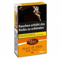 Wasserpfeifentabak-Alisha Peace of Mind (Peach) 250g
