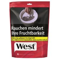 West Red Tabak 115g Beutel Volumentabak