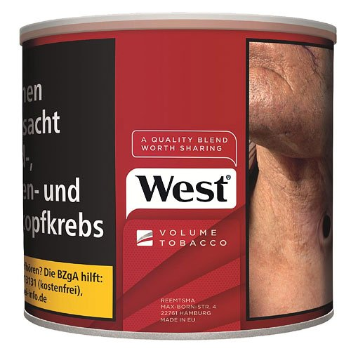 West Red Tabak 42g Dose Volumentabak