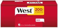 West Red Zigarettenhülsen 200 Stück