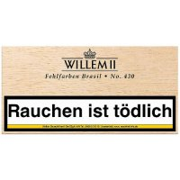 Willem II Zigarillos Fehlfarben 430 Brasil 100er