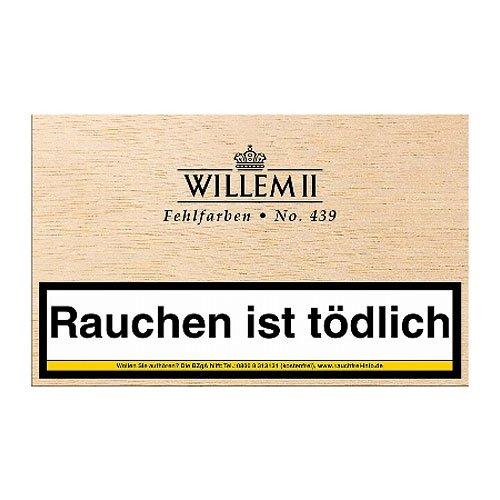 Willem II Zigarillos Fehlfarben 439 Sumatra 50er