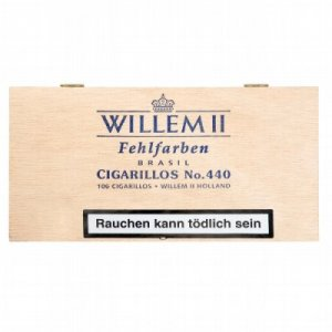 Willem II Zigarillos Fehlfarben 440 Brasil 100er