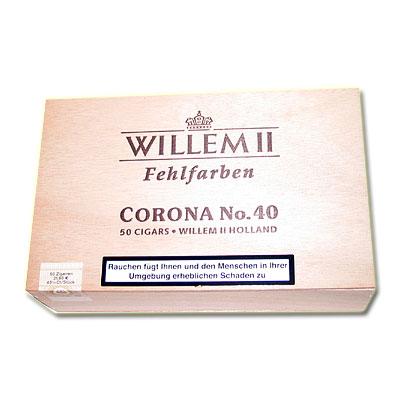 Willem II Zigarren Corona No.40 Sumatra 50 Stk.