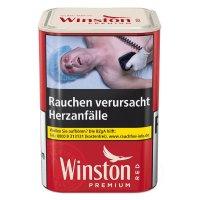 Winston Tabak Rot 100g Dose Zigarettentabak