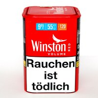Winston Tabak Rot 45gDose Volumentabak
