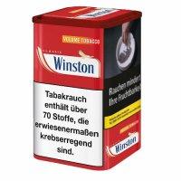 Winston Tabak Rot 65g Dose Volumentabak
