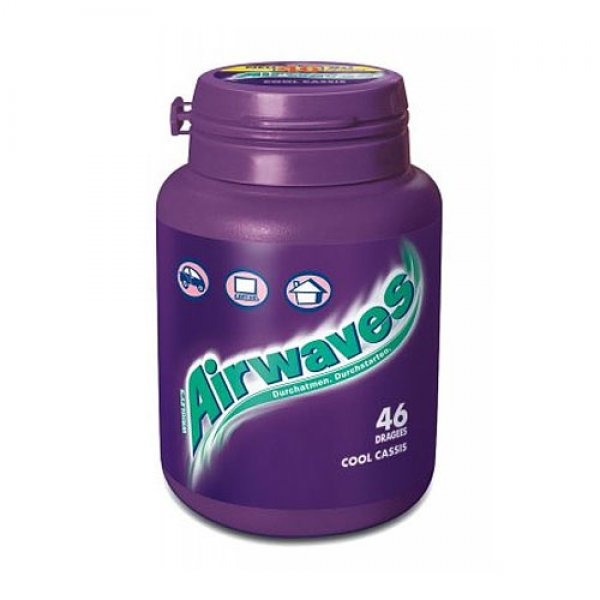 Wrigleys Airwaves Cool Cassis 1 x 46 Stück Dose