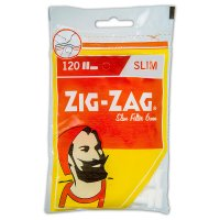 ZIG ZAG Drehfilter Slim Zigarettenfilter 6mm 120 Stück