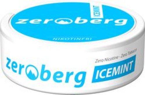 Zeroberg Icemint Chewing Bags Nikotinfrei (Artikel wird nicht mehr hergestellt)