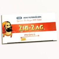 Zig-Zag Mini Zigarettenhülsen 100 Stück