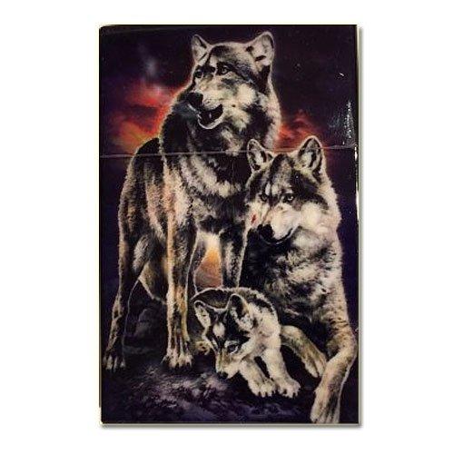 Zigaretten-Box Huskies Design