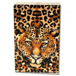 Zigaretten-Box Leopard Design