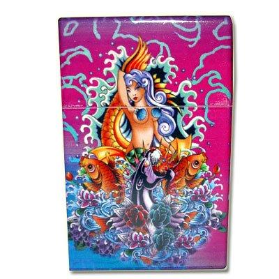 Zigaretten-Box Meerjungfrau-Lila