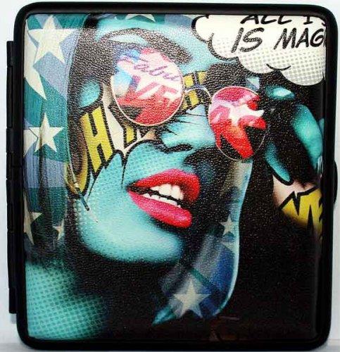 Angelo Girl Zigaretten Etui 20er - Motiv 01 - Sonnenbrille Rot
