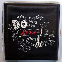 Love and Life Zigaretten Etui 20er Do what you love
